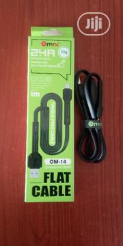 Omni High Quality Flat USB Cable | Accessories for Mobile Phones & Tablets for sale in Lagos State, Ojo