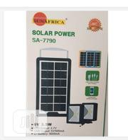 Sun Africa 6V, 3.5W Solar Power Bank + 2 Pieces Super Bright Lamps | Solar Energy for sale in Lagos State, Lagos Island