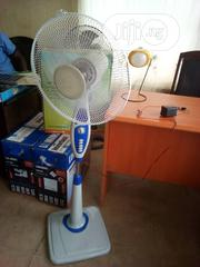 Rechargeable Fan With Solar Panel | Solar Energy for sale in Lagos State, Lekki Phase 1
