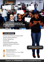 Diction and Phonics Training | Classes & Courses for sale in Lagos State, Ikeja