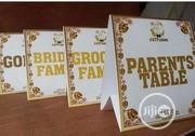 Custom-made Name Cards | Wedding Venues & Services for sale in Lagos State, Lagos Island