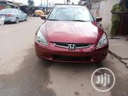 Honda Accord 2005 Automatic Red | Cars for sale in Lagos State, Surulere