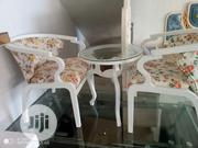 Mixed Colour Garden Chairs And A Table | Furniture for sale in Lagos State, Ojo