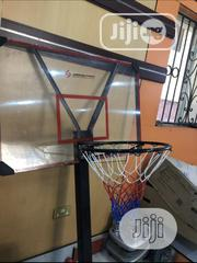 Basketball Stand With Net and Rim | Sports Equipment for sale in Lagos State, Mushin