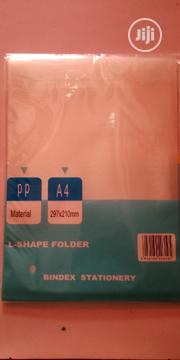 Office L-SHAPE FOLDER 12 / PCS/PACK A4 Size | Computer Accessories  for sale in Lagos State, Lagos Island