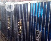 Blue And Silver Stainless Steel Gate | Doors for sale in Lagos State, Alimosho