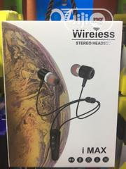 I-max Wireless Stereo Headset | Headphones for sale in Lagos State, Lagos Island