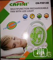 Multi-Function Rechargeable Fan LED Light Y To | Home Appliances for sale in Lagos State, Lagos Island