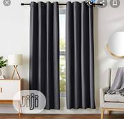 Elegant Dark Grey Living Room/Bedroom Curtain   Home Accessories for sale in Lagos State, Yaba
