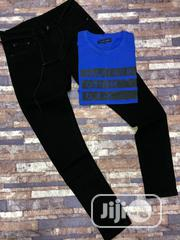 Polo T Shirt and Jeans Trousers | Clothing for sale in Lagos State, Ikeja