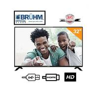 Bruhm 32-inch HD LED TV + With FREE Wall Bracket | TV & DVD Equipment for sale in Lagos State, Gbagada