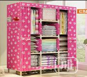 3 Column Mobile Wooden Wardrobe With Plywood Base 130cm by 45cm   Furniture for sale in Lagos State, Oshodi-Isolo