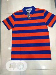 Tommy Hilfiger Short Polo T Shirt | Clothing for sale in Lagos State, Ikeja