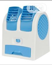 Mini USB/Battery Operated Desktop Air Conditioner Cooling Fan | Accessories & Supplies for Electronics for sale in Lagos State, Lekki Phase 2