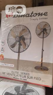 "18"" Stainless Gold BINATONE Standing Fan 