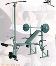 Commercial Weight Bench With Chest Push Exerciser | Sports Equipment for sale in Lagos State, Surulere