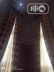 Long Curtain Turkish Material With Board Design | Home Accessories for sale in Lagos State, Ojo