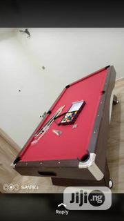 Curved Snooker Board With Complete Accessories   Sports Equipment for sale in Lagos State, Lekki Phase 1