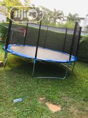 14feet Trampoline With Ladder   Sports Equipment for sale in Lagos State, Lagos Island