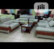 Classic Italian Leather Sofa Available For Sale | Furniture for sale in Lagos State, Ikeja