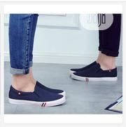 Unisex Leisure Slip on Sneaker- Blue | Shoes for sale in Edo State, Auchi