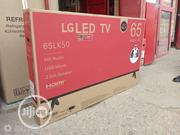 "LG 65""Inch LED Fhd TV With Energy Saving Super Flat + 2 Years 