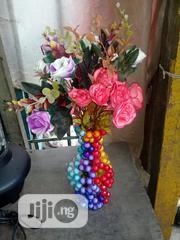 Beaded Flower Vase With Flower | Home Accessories for sale in Lagos State
