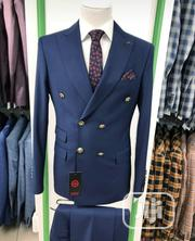 Original Turkish Brands Navy Blue Double Breasted Suits by MC   Clothing for sale in Lagos State, Lagos Island