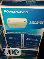 100hams 12vos Powerwave Battery Is Now Available | Solar Energy for sale in Lagos State, Ojo