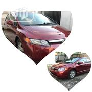 Honda Civic 2007 1.8 Sedan LX Automatic Red | Cars for sale in Lagos State, Lekki Phase 1