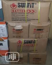 12vos 200hams Sunfit Solar Battery Is Now Available | Solar Energy for sale in Lagos State, Ojo