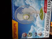 Qasa Table Rechargeable Fan | Home Appliances for sale in Lagos State, Lagos Island