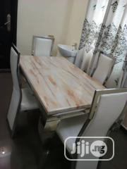 Marble Dining Table by 4 Seater | Furniture for sale in Lagos State, Ikeja