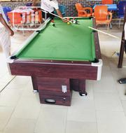 Snooker Board With Coins | Sports Equipment for sale in Lagos State, Ikoyi