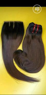 Double Drawn With Closure | Hair Beauty for sale in Anambra State, Onitsha