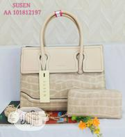 New Female Creamy Leather Shoulder Handbag | Bags for sale in Lagos State, Amuwo-Odofin