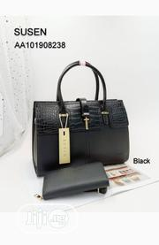 New Susen Lady's Black Shoulder Handbag | Bags for sale in Lagos State, Amuwo-Odofin