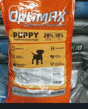 Optimax Dog Food Puppy Adult Dogs Cruchy Dry Food Top Quality | Pet's Accessories for sale in Lagos State, Ajah