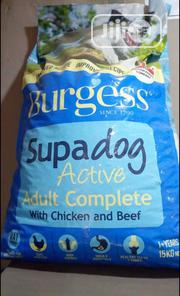 Burgess Dog Food Puppy Adult Dogs Cruchy Dry Food Top Quality | Pet's Accessories for sale in Lagos State, Ikotun/Igando