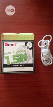Omni OM06 High Quality Fast Charging USB Cable | Headphones for sale in Lagos State, Ojo