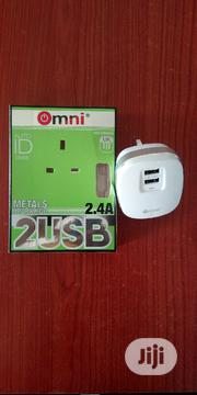 Omni Om59 Super Charging USB Plug | Accessories for Mobile Phones & Tablets for sale in Lagos State, Ojo