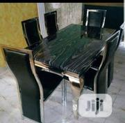 Standard Marble Dining by 6   Furniture for sale in Lagos State, Ojo