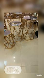 Hexagon Faced 3 In 1 Table Set | Furniture for sale in Lagos State, Gbagada