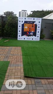 Artificial Astro Turf Grass Installation In Compound | Landscaping & Gardening Services for sale in Lagos State, Ikeja