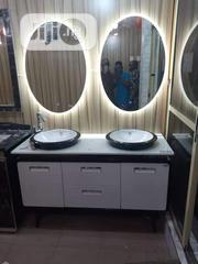 Double Cabinet With Led Mirror | Home Accessories for sale in Lagos State, Orile