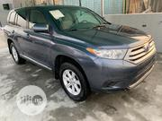 Toyota Highlander Plus 3.5L 4WD 2013 Blue | Cars for sale in Lagos State, Lekki Phase 2