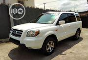 Honda Pilot 2006 EX-L 4x4 (3.5L 6cyl 5A) White | Cars for sale in Lagos State, Ikeja