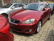 Lexus IS 2007 250 AWD Red | Cars for sale in Lagos State, Ikeja