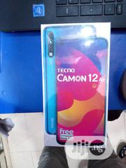 New Tecno Camon 12 Air 32 GB Blue   Mobile Phones for sale in Lagos State, Ikeja