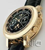 Patek Philippe Chronograph Leather Wristwatch | Watches for sale in Lagos State, Oshodi-Isolo
